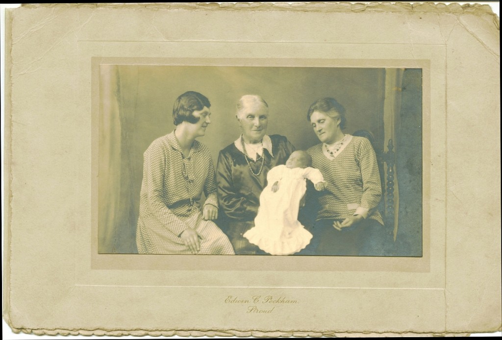 The birth of June Margaret Lasbury