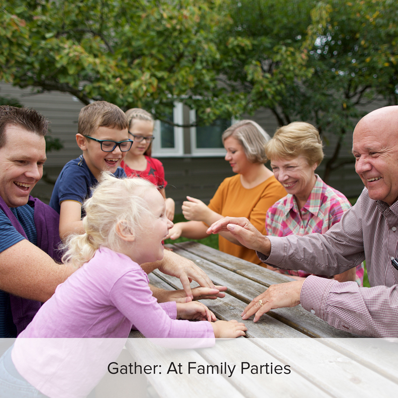 Use these activities to get the family engaged in family history.