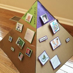 DIY: Create a grandparent pyramid to help your kids connect with family history.