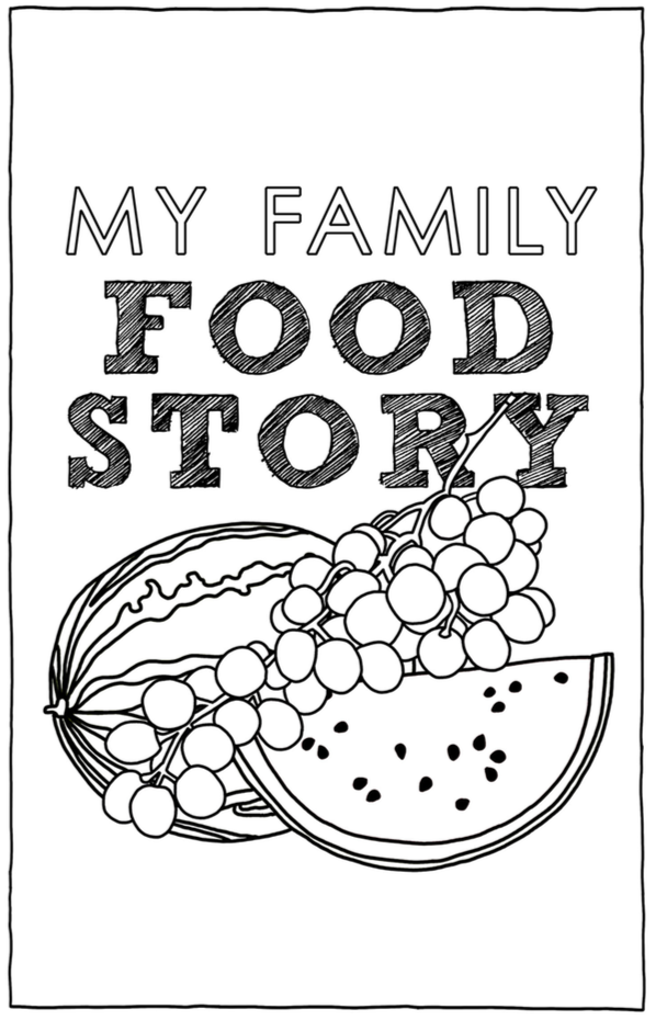 How to record family history through family recipes.