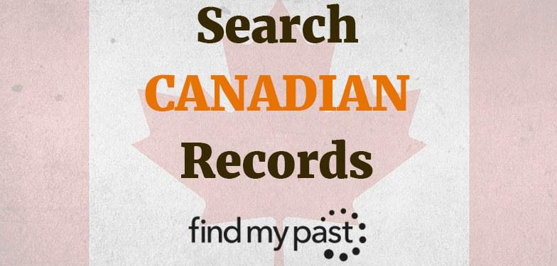 Search canada records