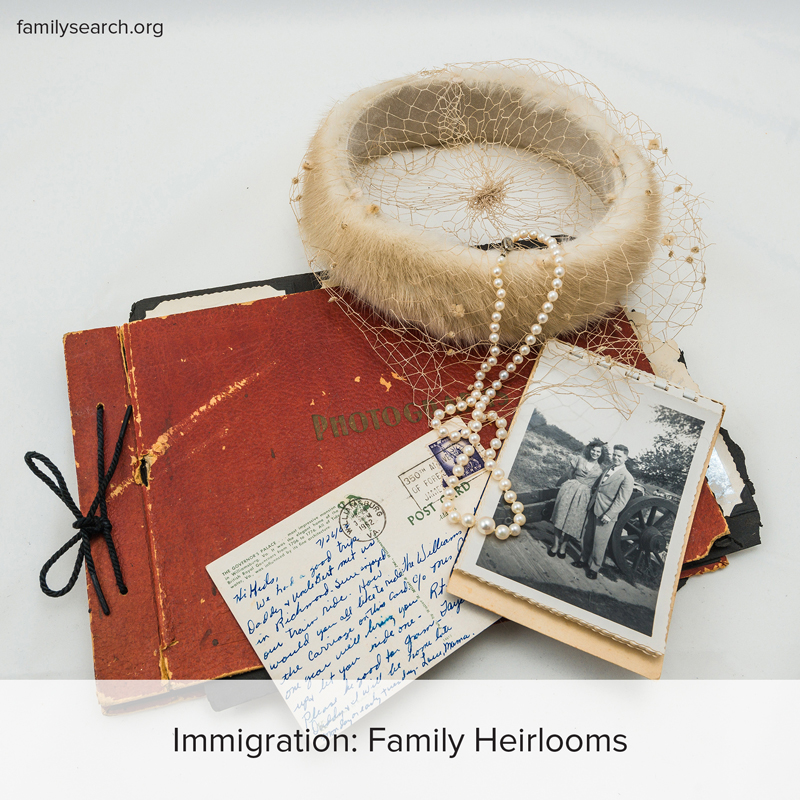 How to use family heirlooms as a link to family history.