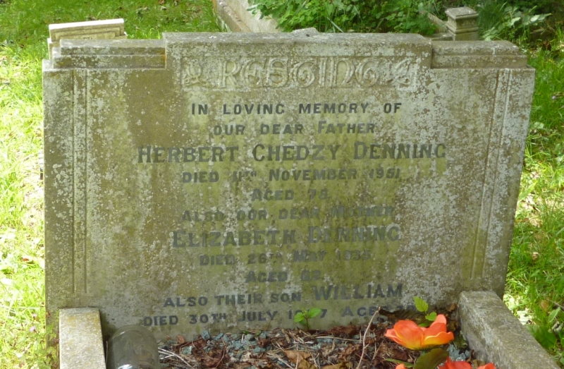 Grave_Herbert_Chedgy_Denning